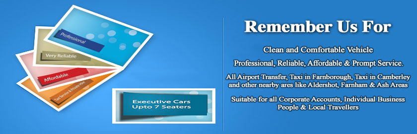 Local Taxi, Luxury Private Hire, Executive Cars, Taxi in Camberley, Taxi in Farnborough